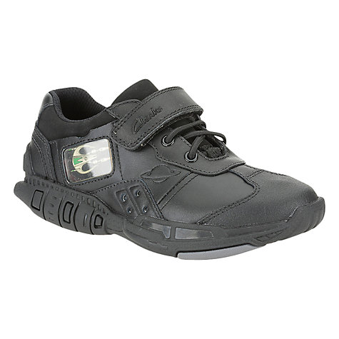 Buy Clarks Orbiter Time Trainers, Black Online at johnlewis.com