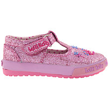 Buy Lelli Kelly Tiara Glitter Baby Shoes, Pink Online at johnlewis.com