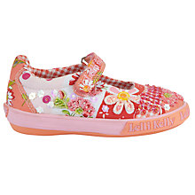 Buy Lelli Kelly Polly Dolly Shoes, Orange Online at johnlewis.com