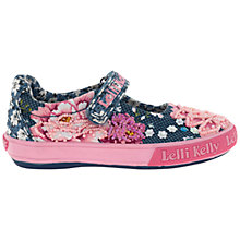 Buy Lelli Kelly Rose Dolly Shoes, Blue Online at johnlewis.com