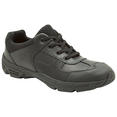 Buy Clarks Air Dorset Shoes, Black Online at johnlewis.com