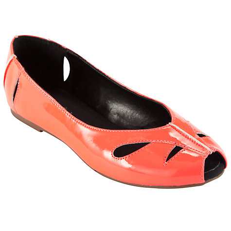 Buy John Lewis Girl Saskia Cut-Out Pumps Online at johnlewis.com