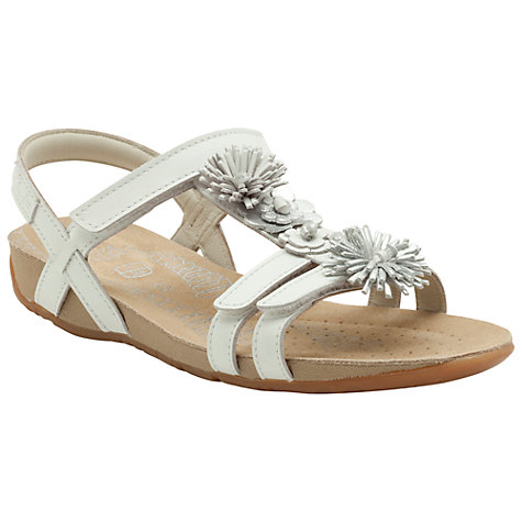 Buy Clarks Rio Flower Sandals Online at johnlewis.com
