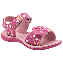 Buy Clarks Tandy Queen Sandals, Pink Online at johnlewis.com