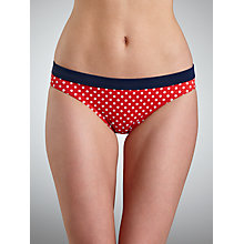 Buy John Lewis Epp Bikini Briefs, Red Online at johnlewis.com