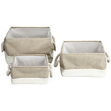 Buy Fabric Storage Bags Online at johnlewis.com