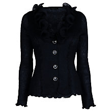 Buy James Lakeland Ruched Collar Mohair Cardigan Online at johnlewis.com