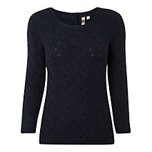 Buy White Stuff Sutton Jumper, Navy Online at johnlewis.com