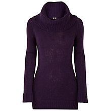 Buy White Stuff Cherry Pie Tunic, Purple Online at johnlewis.com