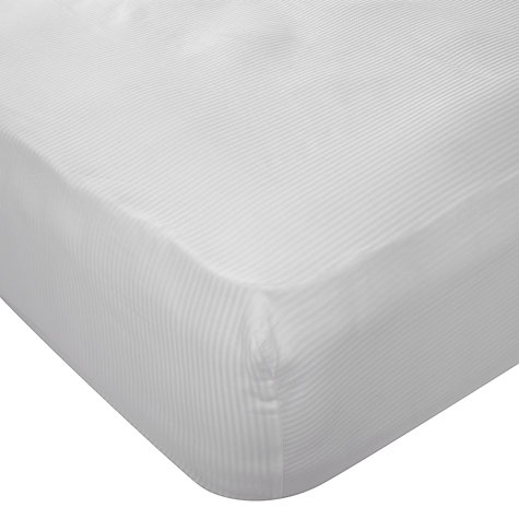 Buy John Lewis Stripe Mattress Cover, Depth 32cm Online at johnlewis.com
