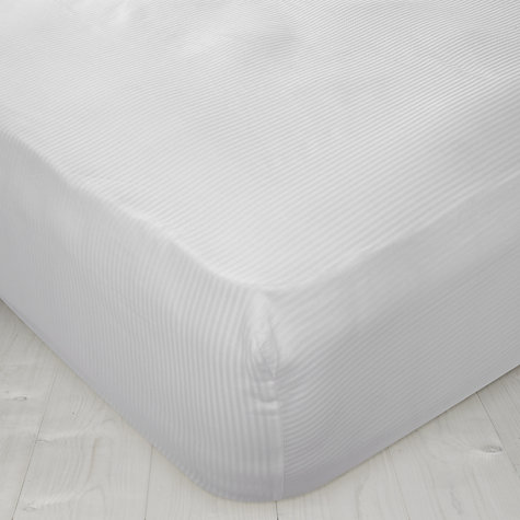 Buy John Lewis Stripe Mattress Cover Online at johnlewis.com