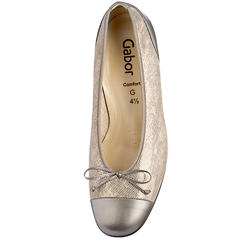 Buy Gabor Emporium Leather Wide Fitting Pumps Online at johnlewis.com
