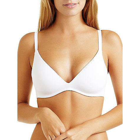 Buy Bonds Pull Over Bra, White Online at johnlewis.com