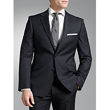 Buy John Lewis Business Travel Stripe Suit, Navy  Online at johnlewis.com