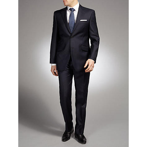 Buy John Lewis Lilac Stripe Suit Jacket, Navy Online at johnlewis.com