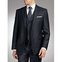 Buy John Lewis Plain Wool Suit, Navy Online at johnlewis.com