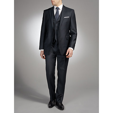 Buy John Lewis Plain Wool Suit Jacket, Navy Online at johnlewis.com