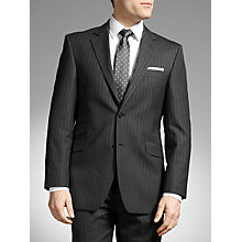 Buy John Lewis Fine Stripe Suit, Grey Online at johnlewis.com