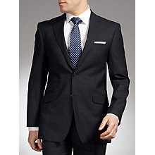 Buy John Lewis English Windowpane Suit, Navy Online at johnlewis.com