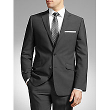 Buy John Lewis Textured Stripe Tailored Suit, Charcoal Online at johnlewis.com