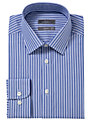 John Lewis Tailored Multi Stripe Shirt, Blue