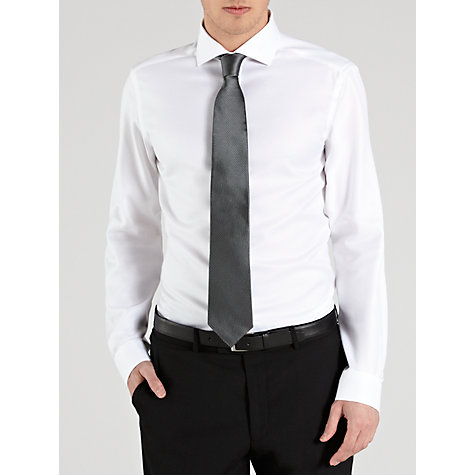Buy John Lewis Twill Wide Spread Collar XL Sleeves Shirt Online at johnlewis.com