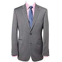 Buy Chester by Chester Barrie Herringbone Wool Suit Jacket, Charcoal Online at johnlewis.com