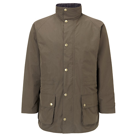 Buy Barbour Marsdon Jacket, Olive Online at johnlewis.com