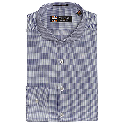 Buy West End by Simon Carter Puppytooth Check Shirt Online at johnlewis.com