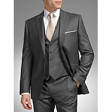 Buy John Lewis Tailored Fit Wool Dress Suit, Grey Online at johnlewis.com