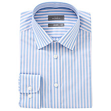 Buy John Lewis Narrow Stripe XL Sleeves Shirt Online at johnlewis.com