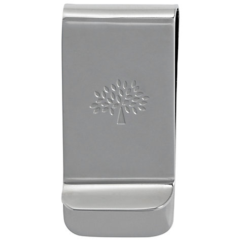Buy Mulberry Laser Cut Metal Money Clip, Silver Online at johnlewis.com