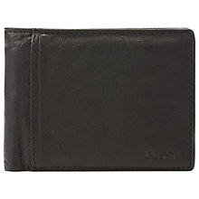 Buy Fossil Ingram International Traveller Leather Wallet Online at johnlewis.com