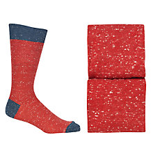 Buy JOHN LEWIS & Co. Contrast Toe and Heel Socks, Pack of 2 Online at johnlewis.com