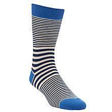 Buy Kin by John Lewis Stripe Heel & Toe Socks Online at johnlewis.com