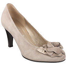 Buy Gabor Martina Flower Suede Kitten Heel Court Shoes Online at johnlewis.com