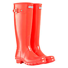 Buy Hunter Original High Gloss Rubber Wellington Boots Online at johnlewis.com