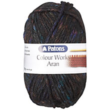 Buy Patons Colour Works Aran Yarn, 50g Online at johnlewis.com