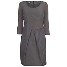 Buy James Lakeland Pleated Dress, Charcoal Online at johnlewis.com
