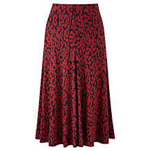 Buy Viyella Animal Print Skirt, Multi Online at johnlewis.com