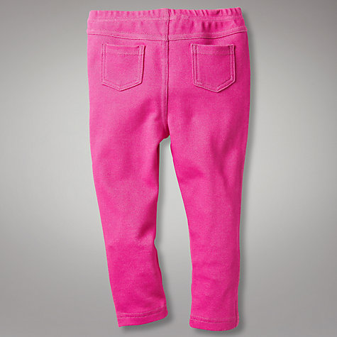 Buy John Lewis Jeggings, Pink Online at johnlewis.com