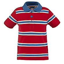 Buy John Lewis Pique Short Sleeved Polo Shirt Online at johnlewis.com