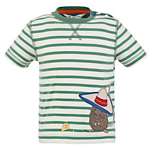 Buy John Lewis Mexican Mouse T-Shirt, Cream/Green Online at johnlewis.com