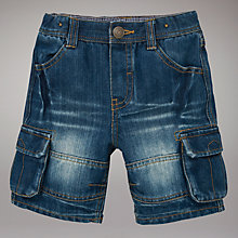 Buy John Lewis Denim Shorts, Blue Online at johnlewis.com
