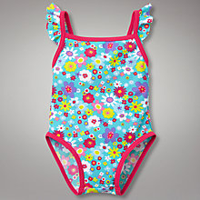Buy John Lewis Flower Swimsuit, Multi Online at johnlewis.com