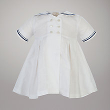 Buy Emile Et Rose Ariana Sailor Suit with Hat, White Online at johnlewis.com