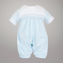 Buy Emile et Rose Sailor Romper, Blue Online at johnlewis.com