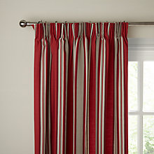 Buy John Lewis Alban Stripe Pencil Pleat Curtains Online at johnlewis.com