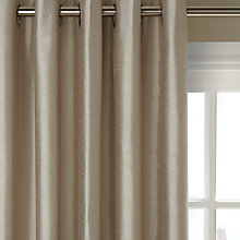 Buy John Lewis Faux Silk Lined Eyelet Curtains Online at johnlewis.com