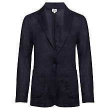 Buy Kin by John Lewis Linen Relaxed Tux Jacket Online at johnlewis.com